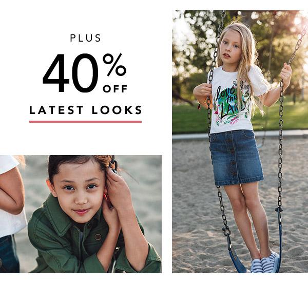 40% off latest looks