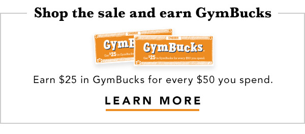 Earn GymBucks