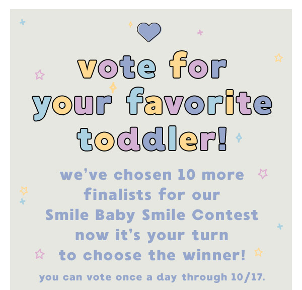 Vote for your favorite toddler!